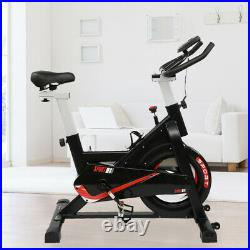 New Cardio Exercise Bike Flywheel Cycling Bicycle with LCD Home Fitness Training