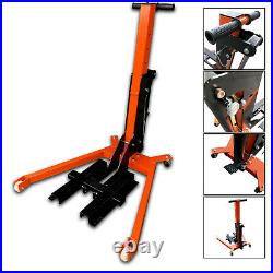 New Heavy Duty Hydraulic Motorcycle Mechanics Garage Workshop Cruiser Lift Jack