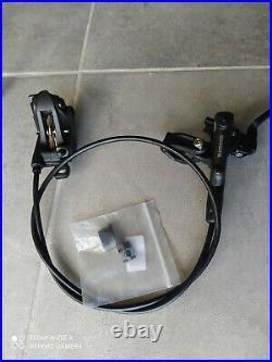 SHIMANO Deore BR-M6120 BL-M6100 Bike 4-Piston MTB Hydraulic Disc Brake Set