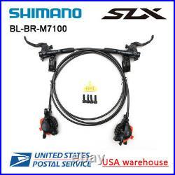 SHIMANO SLX BR-BL-M7000 M7100 Bike MTB Hydraulic Disc Brake Set Front/Rear (OE)