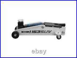 Sealey 1153SUV Long Chassis High Lift SUV Trolley Jack 3 Tonne Car Van Garage