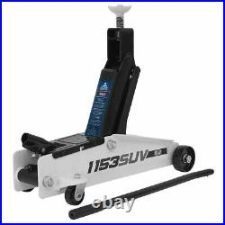 Sealey 1153SUV Long Chassis High Lift SUV Trolley Jack 3tonne