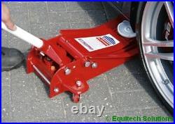 Sealey 2500LE Trolley Jack 2.5T Low Entry Rocket Lift Twin Piston REVISED MODEL