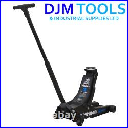 Sealey 3100TB Viking 3tonne Low Entry Trolley Jack with Rocket Lift