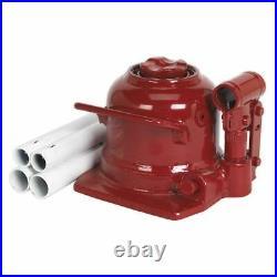Sealey Bottle Jack 10tonne Low Entry Telescopic BJ10LE