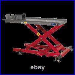 Sealey MC365 Motorcycle Bike Garage Steel High Lift Hydraulic 365kg Loading Ramp