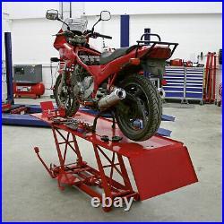 Sealey MC401 Motorcycle Lift 454kg Capacity Hydraulic
