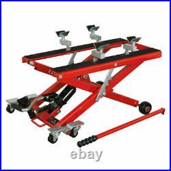 Sealey MC4500 Hydraulic Motorcycle Bike Quad Scissor Lift 500kg Capacity Motor