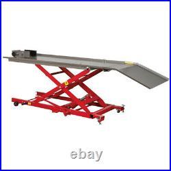Sealey MC454 Hydraulic Motorcycle Motorbike Lift Ramp Bench 450Kg Capacity