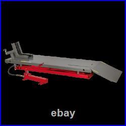 Sealey MC680A Air/Hydraulic Motorcycle Motorbike Lift 680kg Capacity Heavy Duty