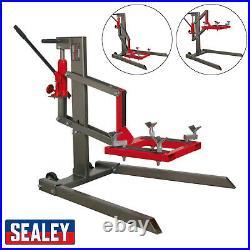 Sealey MCL500 Motorcycle Motorbike Bike Lift 450kg Capacity Single Post