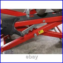 Sealey Motorcycle Motorbike & Quad Bike Scissor Lift 500kg Capacity Hydraulic