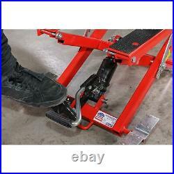 Sealey Motorcycle & Quad Scissor Lift 500kg Capacity Hydraulic MC4500
