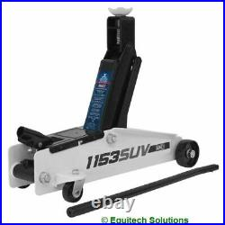 Sealey Tools 1153SUV 3 Tonne Long Chassis High Lift SUV Trolley Jack