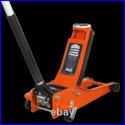 Sealey Tools 2001LEOR 2 Tonne Low Entry Rocket Lift Trolley Jack Orange
