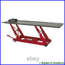 Sealey Tools MC401 Hydraulic Motorcycle Motorbike Lift Ramp Bench 454Kg Capacity