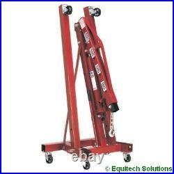 Sealey Tools PH20 2 Tonne Folding Engine Crane Hoist Lift Workshop Hydraulic New