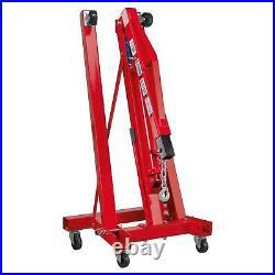 Sealey Tools SC10 1 Tonne Folding Crane Engine Lift Hoist Garage Workshop New