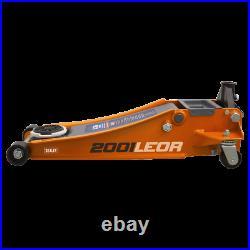 Sealey Trolley Jack 2 tonne LOW ENTRY Rocket Lift Orange 2001LEOR