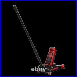 Sealey Trolley Jack 4tonne Rocket Lift Red 4040AR