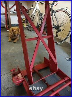 Sealey motorcycle hydraulic bike lift