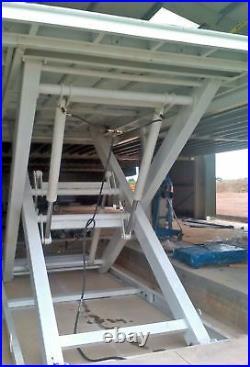 Strongman Tools Floor To Floor Mezzanine Scissor Lift 3.5m Lift 3000kg