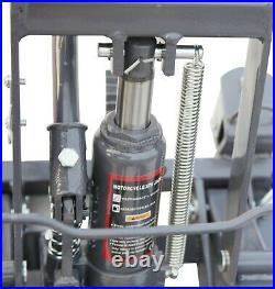 SwitZer 1500lb Hydraulic Motorcycle Motor Bike Stand Quad Lift ATV Jack Hoist