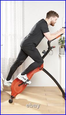 Vertical Exercise Bike Home Gym Cross Trainer Elliptical Full Body Workout