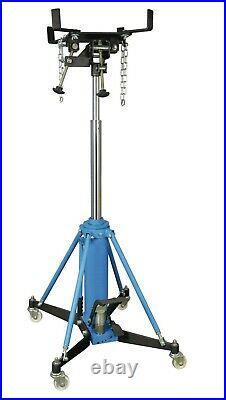 Vertical Telescopic Car Transmission Jack 1000Kg Hydraulic Motor Gearbox Lift 1T