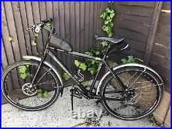 Vitus Dee 1 City Bike Single Speed Commuter New Parts Fully Serviced Hydraulic